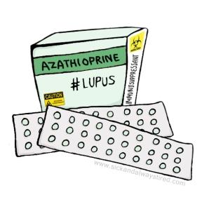 SickandalwaystiredAzathioprine